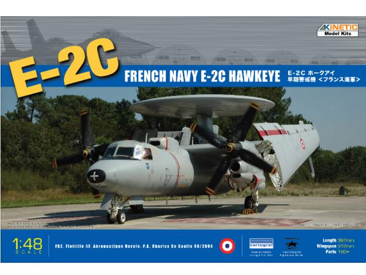 Kinetic - E-2C Hawkeye - French / US 1/48 48015