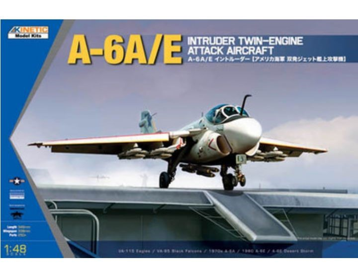 Kinetic - Grumman A-6A/E Intruder 1/48 48034
