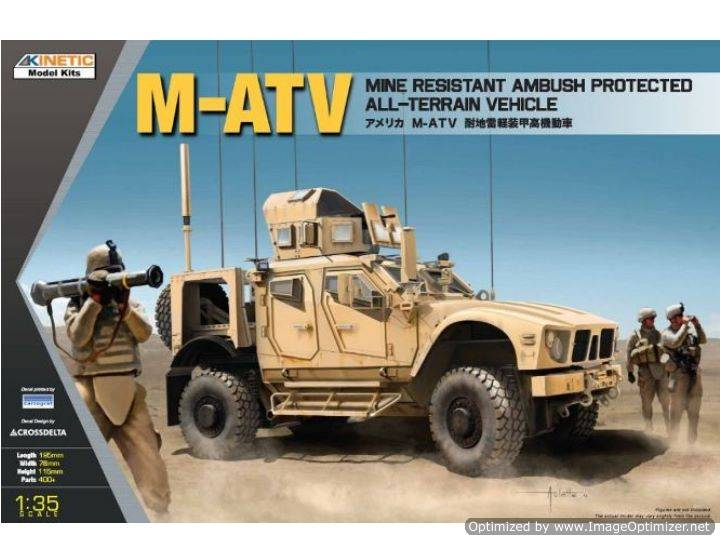 Kinetic - M-ATV MRAP Oshkosh 1/35 61007