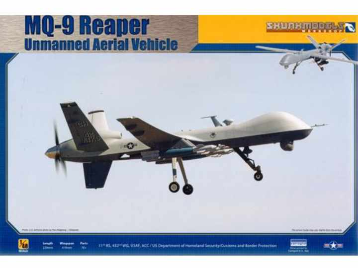 Kinetic - MQ-9 Reaper Unmanned Aerial Vehicle 1/48 SW48013