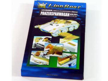 Lion Roar - Detail Set For German Sd. Kfz. 234/4 Panzerspahwagan for Dragon 1/35 LE35066