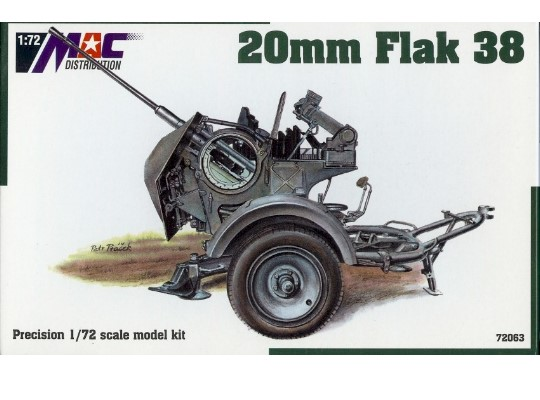 Mac Distribution 20 mm FlaK 38 1/72 72063