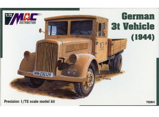 Mac Distribution Opel Blitz 3t Model 1944 1/72 72064
