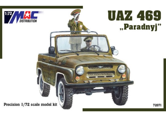 Mac Distribution UAZ 469 - Paradnyj 1/72 72071