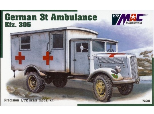 Mac Distribution Kfz.305 3t Ambulance 1/72 72081