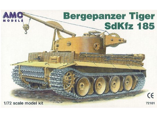 Mac Distribution Sdkfz. 185 Bergepanzer Tiger 1/72 72101