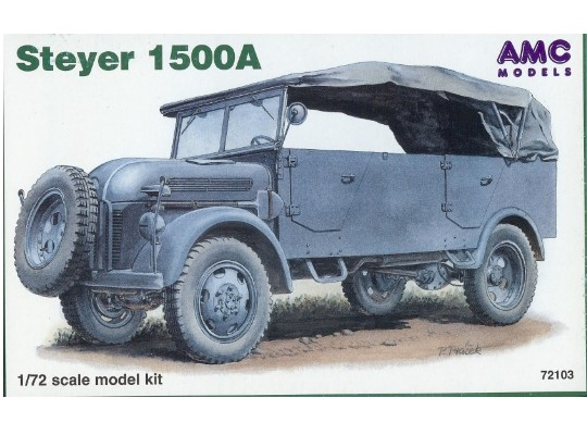 Mac Distribution Steyer 1500A 1/72 72103