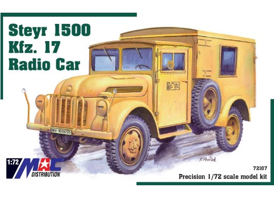 Mac Distribution Steyr 1500 Kfz. 17 Radio Car 1/72 72107