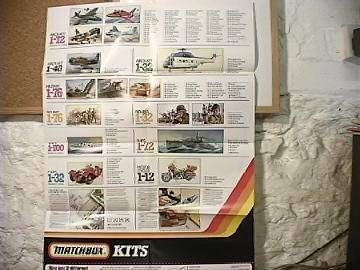 Matchbox - 1982 Double Sided Kit Poster na Date: 82
