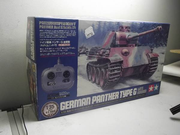 Tamiya - German Panther Type G R/C Scale 1/35 Date: 00's