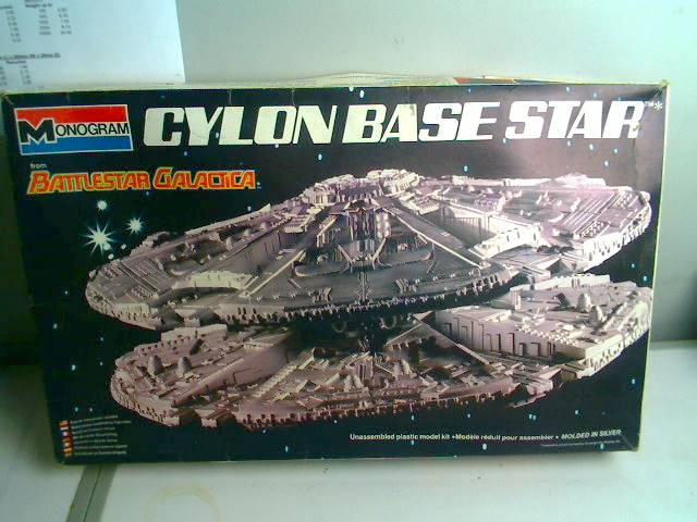 "Monogram - Battlestar Galactica - Cylon Base Star Scale 11"" Date: 1978"