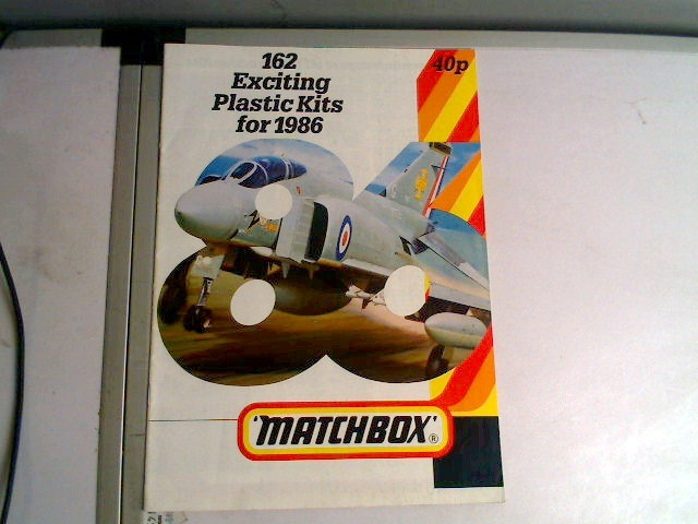 Matchbox - 1986 Kits Catalogue Scale - Date: 1986