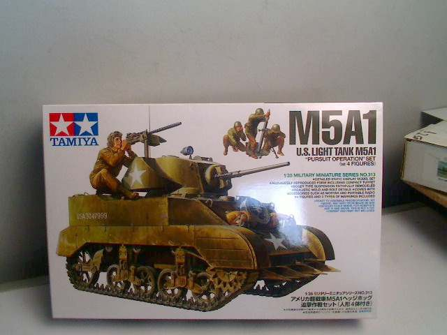 Tamiya 1/35 M5A1 Light Tank Date: 00's