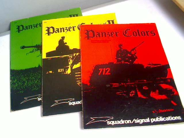 Squadron / Signal - Panzer Colors Vol I,II and III by Bruce Culver Date: 1970's