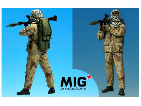 Mig Productions - Palestinian with RPG 1/35 35316