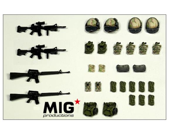 Mig Productions 1/35 35318 Modern American Figure Accessories