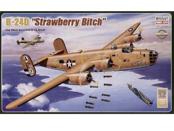 Minicraft - B-24D Liberator 'Strawberry Bitch' 1/72 11639
