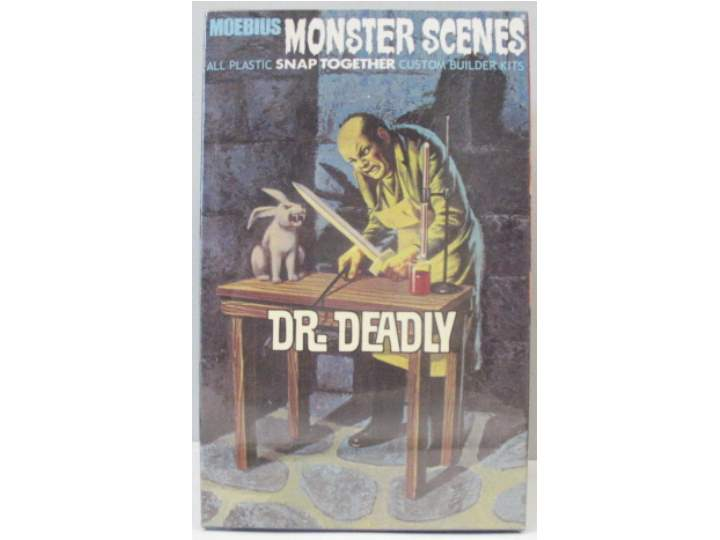 Moebius - Dr Deadly - Monster Scenes 1/13 631