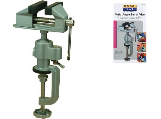 Model Craft - Multi -Angle Bench Vice - PVC7008