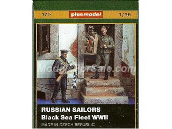 PlusModel - Russian Sailors WWII - Black Sea Fleet 1/35 170