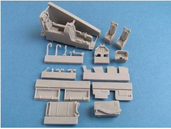 Pavla - AH-1S/F Cockpit with ammo bay for HobbyBoss Kit 1/72 C72082