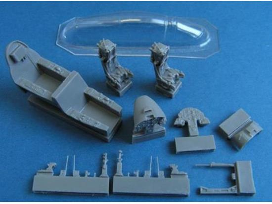 Pavla - Aermacchi MB 339 Cockpit for Italeri / Supermodel Kit 1/72 C72107