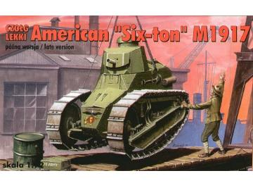 RPM American Six Ton Tank M1917 late version 1/72 72207