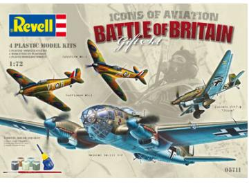 Revell Battle of Britain Gift Set Scale 1/72 05711