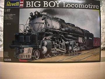 Revell Big Boy Locomotive Scale 1/87 2165
