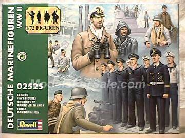 Revell German Navy Figures Scale 1/72 2525