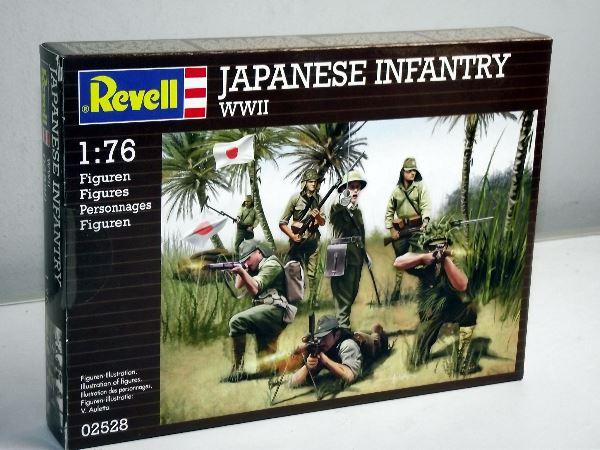 Revell 1/76 2528 Japanese Infantry WWII