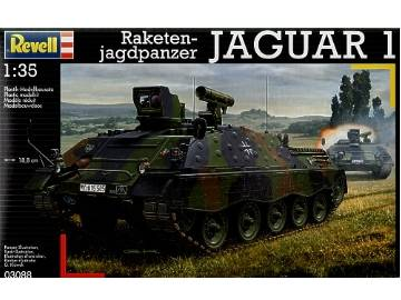 Revell Tank Destroyer JAGUAR 1 Scale 1/35 3088