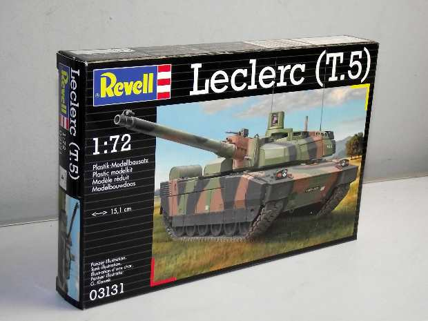 Revell - French Leclerc Tank 1/72 #3131