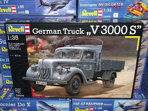 Revell - German Truck V3000S Scale 1/35 3234