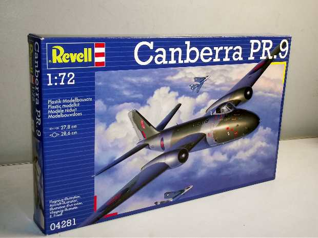Revell Canberra PR.9 Scale 1/72 4281