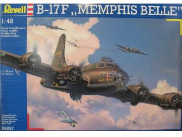 Revell 1/48 4297 B-17F Flying Fortress Memphis Belle