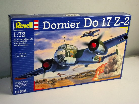 Revell Dornier Do17 Z2 Scale 1/72 4655
