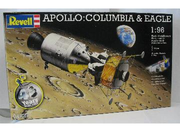 """maquette Revell """"Apollo: Columbia & Eagle"""" RR4827"""