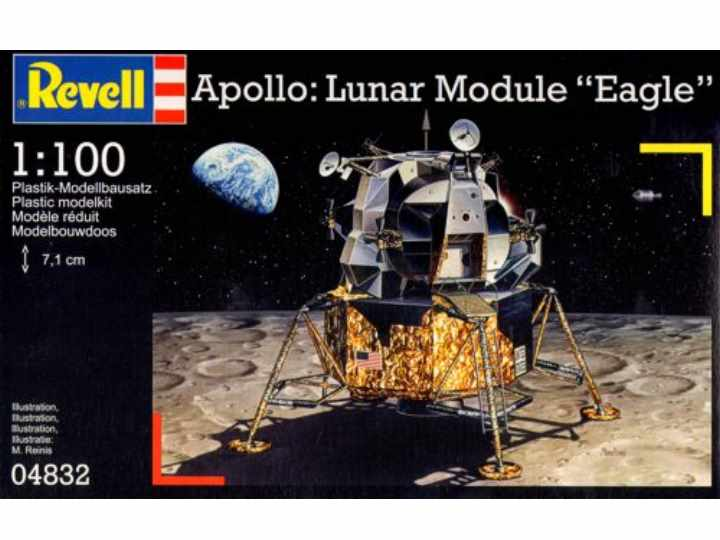 Revell Apollo Lunar Module Eagle Scale 1/100 4832