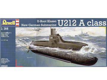 Revell - New German Submarine Class 212A 1/144 #5019