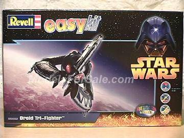 "Revell - Star Wars - Droid Tri-Fighter ""easykit"" 185mm #6652"