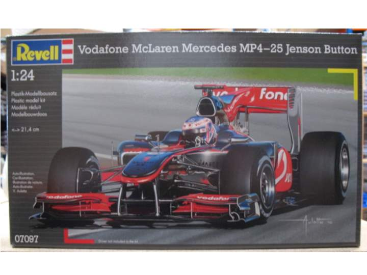 Revell McLaren Mercedes MP4/25 J Button Scale 1/24 7097