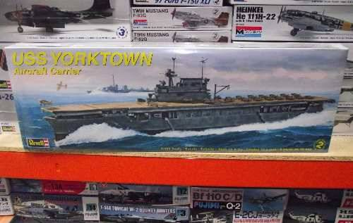 Revell Monogram USS Yorktown Aircraft Carrier Scale 1/485 3017