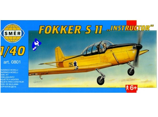 Smer - Fokker SII Instructor Scale 1/40 801