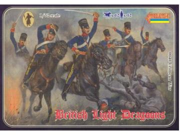 Strelets Crimean War - British Light Dragoons 040