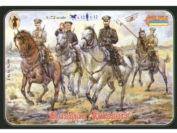 Strelets WWI - Russian Hussars Scale 1/72 076