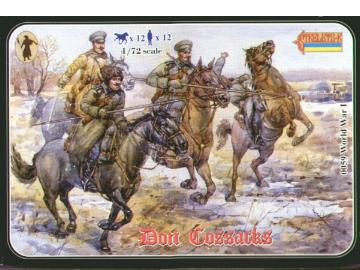 Strelets WWI Don Cossacks Summer Uniform (076 On Box) Scale 1/72 083
