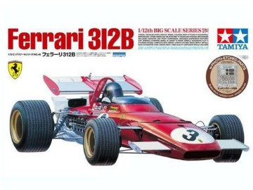 Tamiya - Ferrari 312B with Photo-Etched Parts Scale 1/12 12048