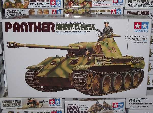 Tamiya - German Panther Med. Tank Scale 1/35 #35065