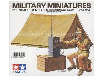 Tamiya - Tent Set Scale 1/35 #35074